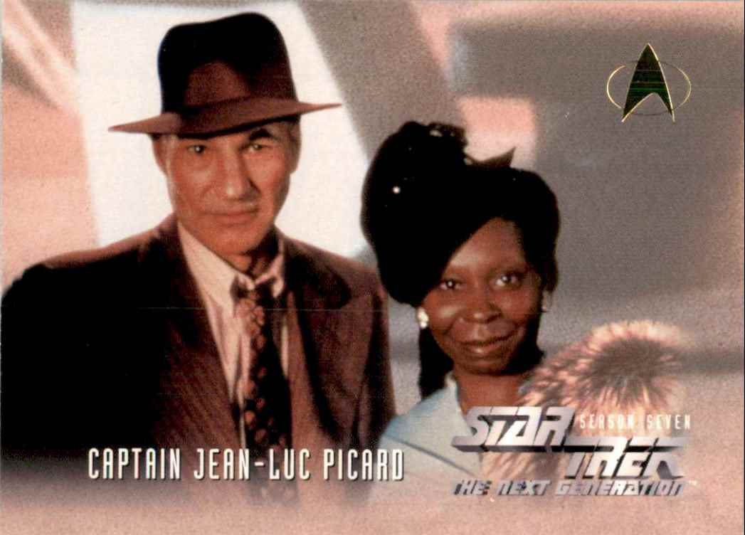 1994 Star Trek The Next Generation Episode Collection Guinan #730 card front image