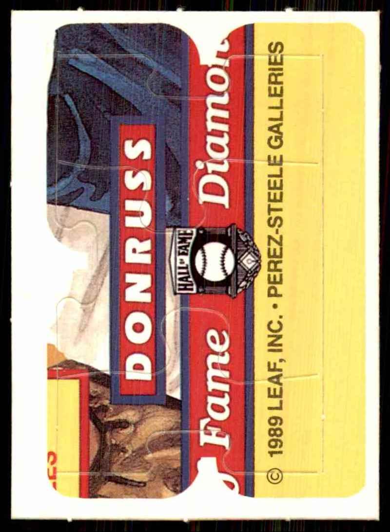 1989 Donruss Warren Spahn Puzzle Spahn Puzzle 58-60 #58 card front image