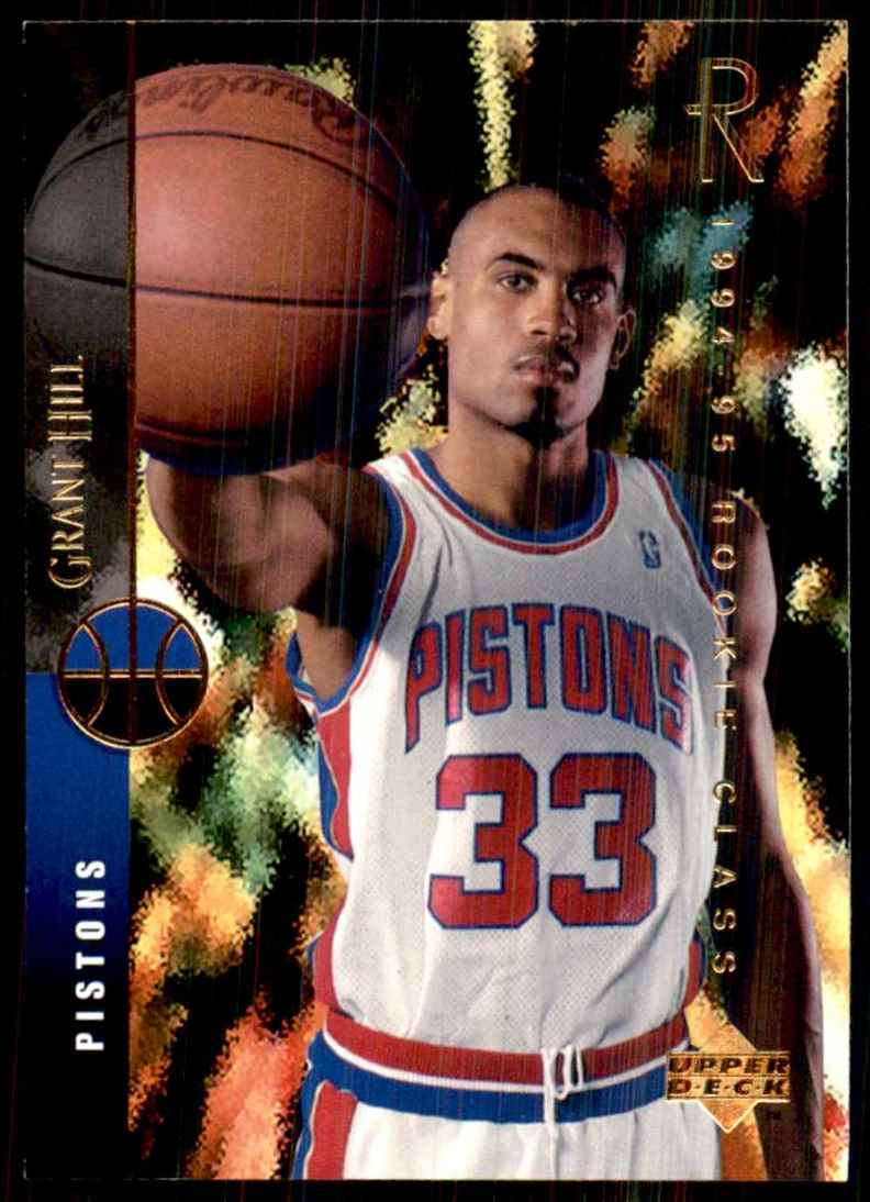 1994-95 Upper Deck Grant Hill RC #157 card front image