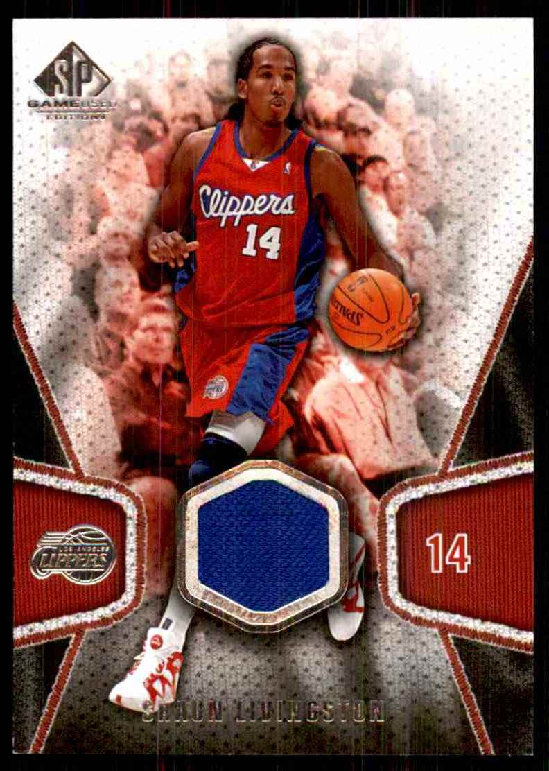 2007-08 SP Game Used Shaun Livingston Jsy #137 card front image