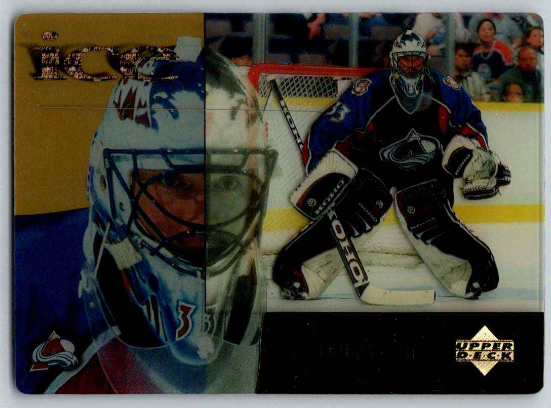 1998-99 Upper Deck McDonald's Patrick Roy #MCD15 card front image