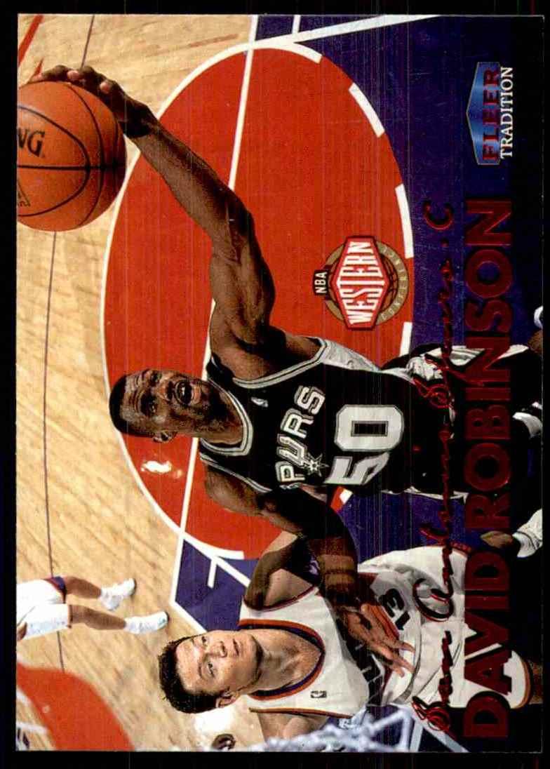 1999-00 Fleer David Robinson #151 card front image