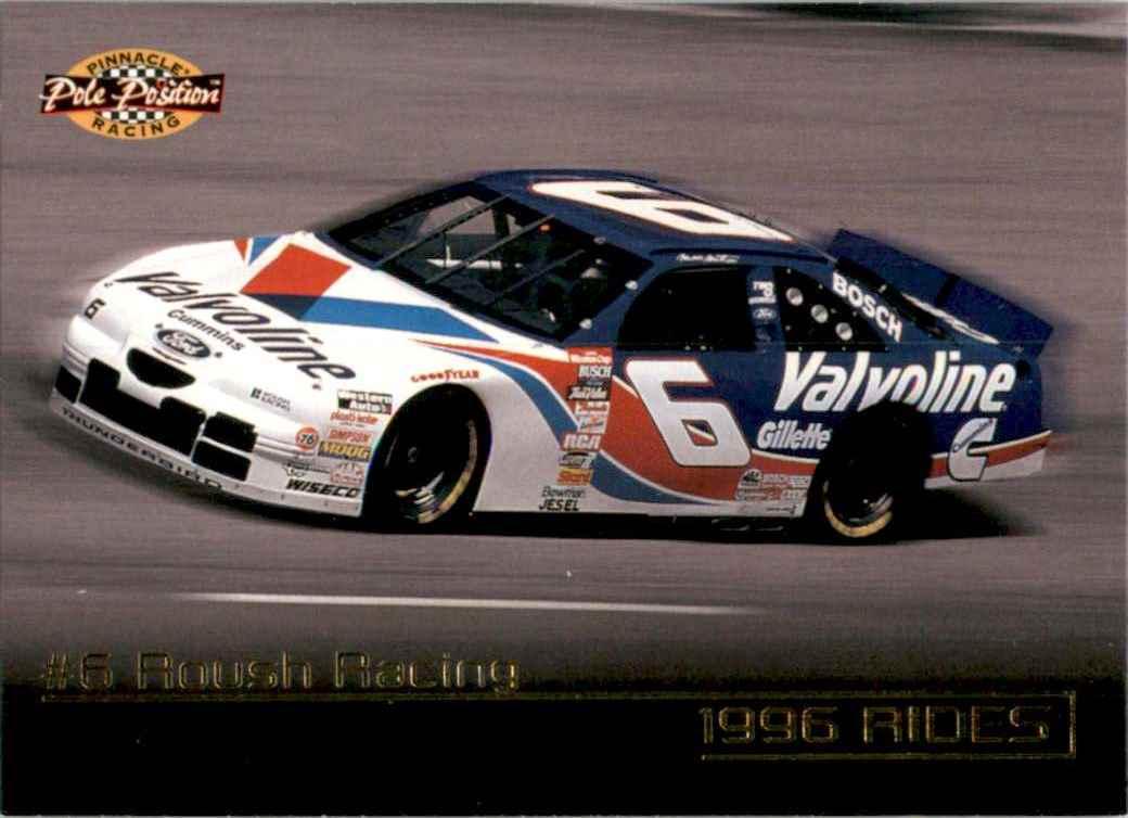 1996 Pinnacle Pole Position Mark Martin's Car #30 card front image