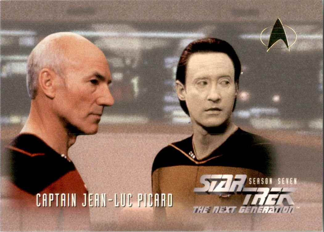 1994 Star Trek The Next Generation Episode Collection Lieutenant Commander Data #723 card front image