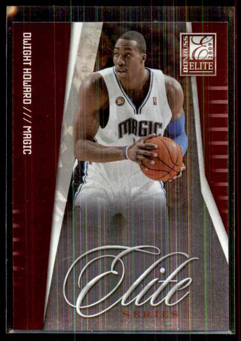 2009-10 Donruss Elite Series Red Dwight Howard #22 card front image