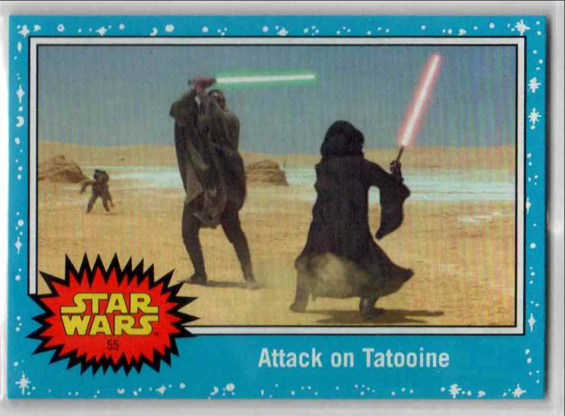 2019 Topps Star Wars Journey To Rise Of Skywalker Attack On Tatooine #55 card front image