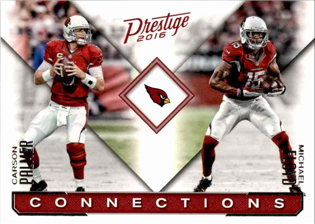 2016 Panini Prestige Carson Palmer, Michael Floyd #1 card front image
