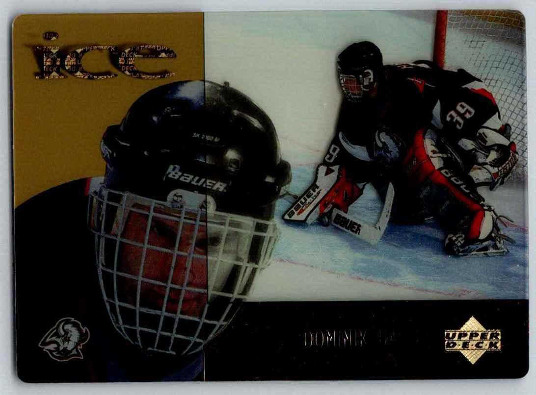 1998-99 Upper Deck McDonald's Dominik Hasek #MCD16 card front image