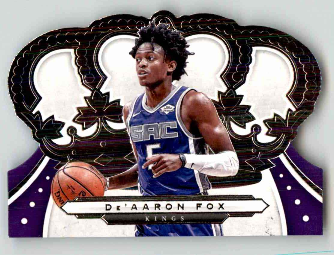 2019-20 Crown Royale De'Aaron Fox #24 card front image