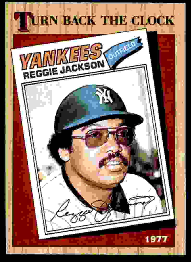 1987 Topps Reggie Jackson #312 card front image