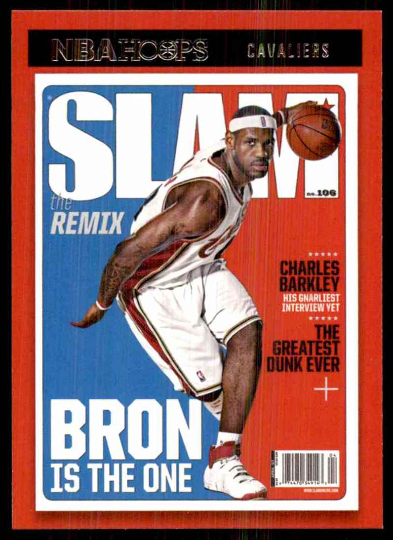 2020-21 Hoops Slam LeBron James #2 card front image