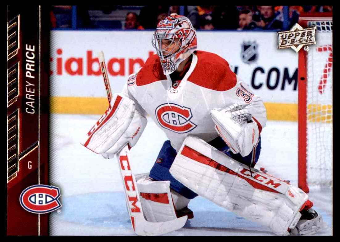 2015-16 Upper Deck Carey Price #356 card front image