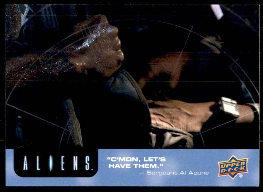 2018 Aliens C'mon Let's Have Them #46 card front image