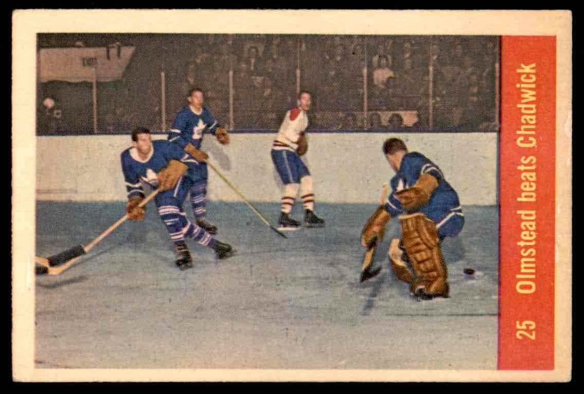 1957-58 Parkhurst Olmsteadbeats Chadwick #25 (02) card front image