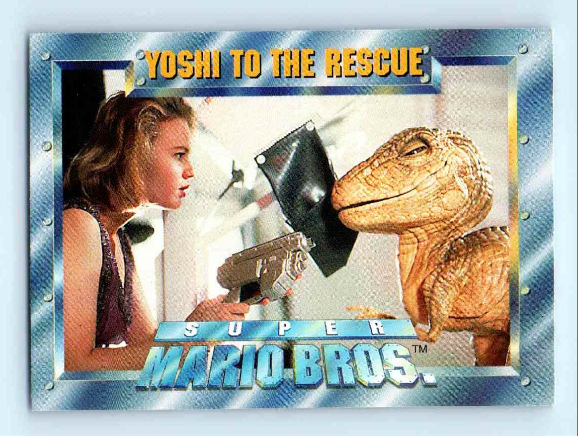 1993 Skybox Super Mario Bros Yoshi To The Rescue 64 On Kronozio