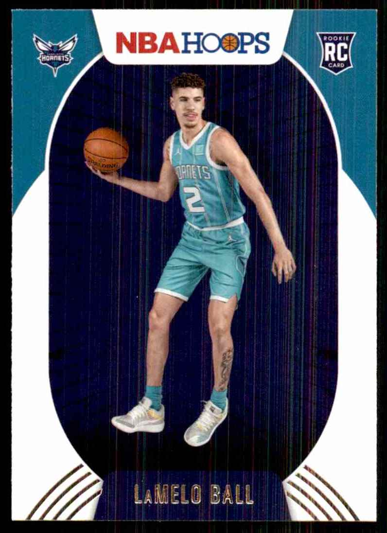 2020-21 Hoops LaMelo Ball RC #223 card front image