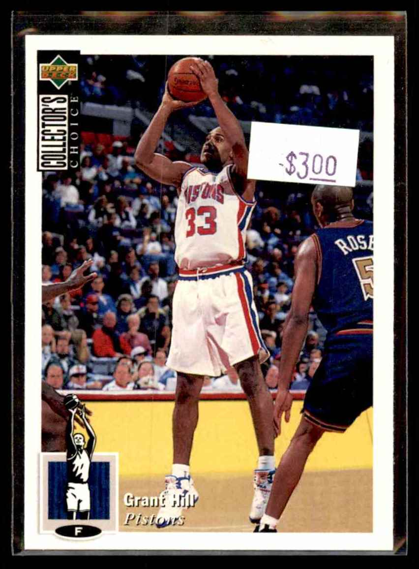 1994 95 Collector39s Choice Grant Hill 219 On Kronozio