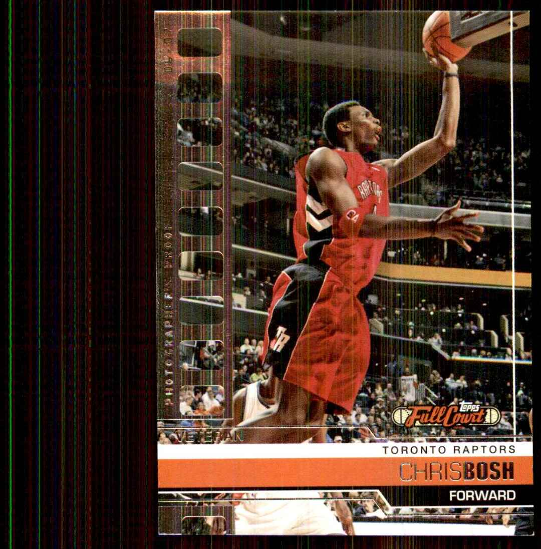 2006-07 Topps Full Court Photographer's Proof Chris Bosh #70 card front image