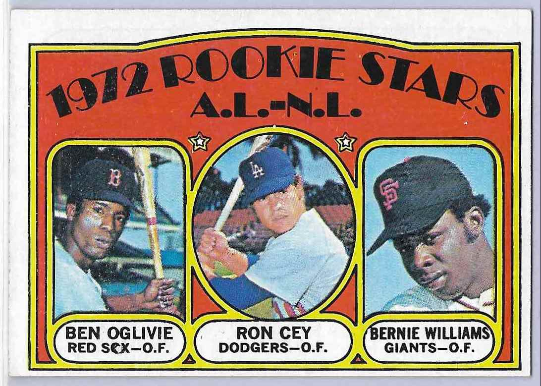 1972 Topps Ron Cey/Ben Oglivie #761 card front image