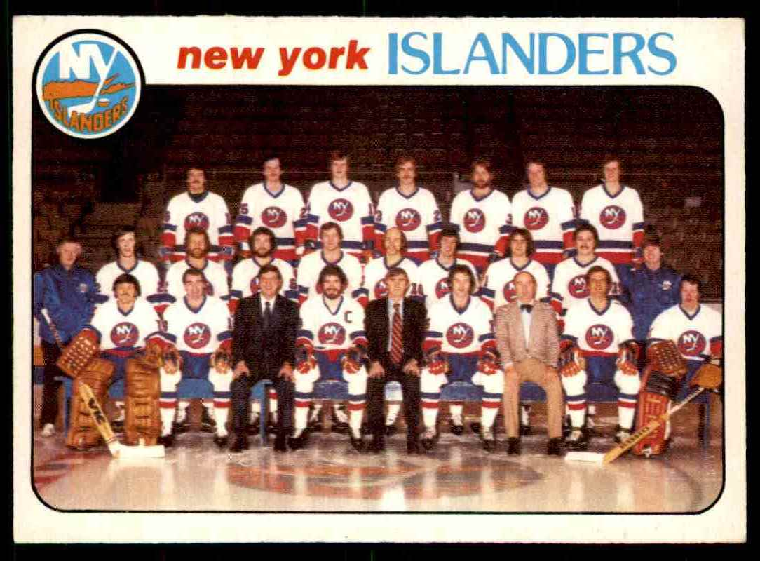 1978-79 O-Pee-Chee New York Islanders Checklist #201 card front image