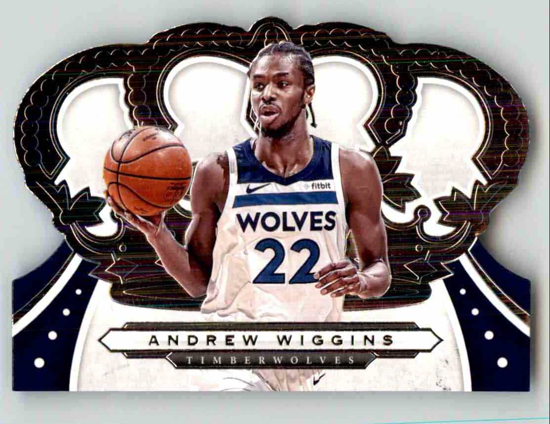 2019-20 Crown Royale Andrew Wiggins #50 card front image