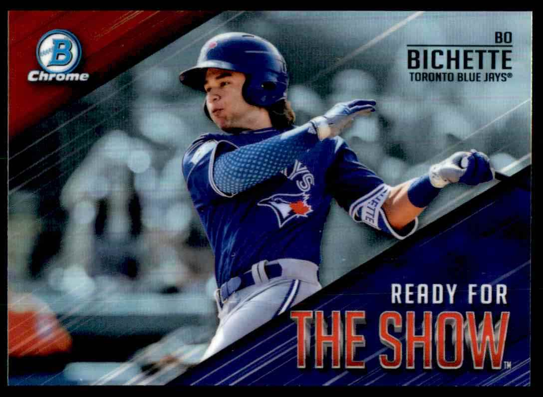 2019 Bowman Chrome Ready For The Show Bo Bichette #2 card front image