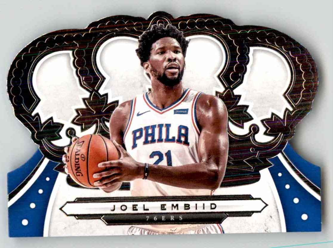 2019-20 Crown Royale Joel Embiid #52 card front image
