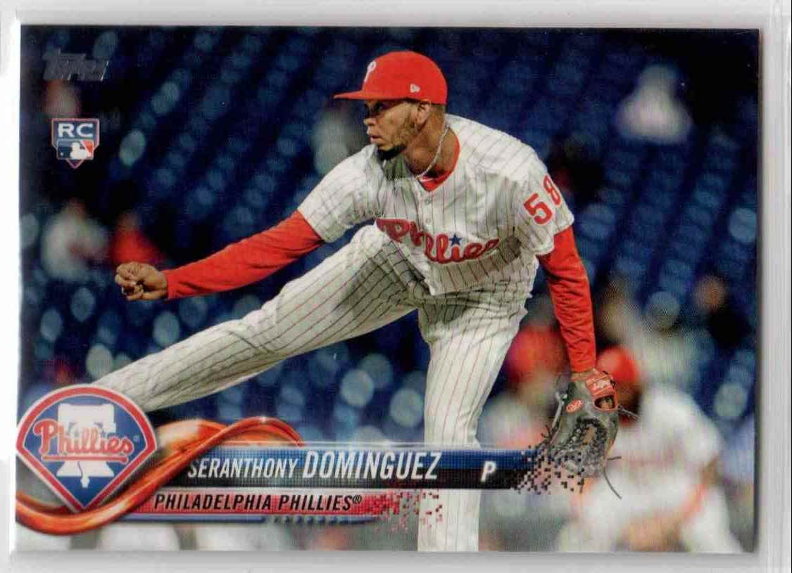 2018 Topps Update Seranthony Dominguez #US161 card front image