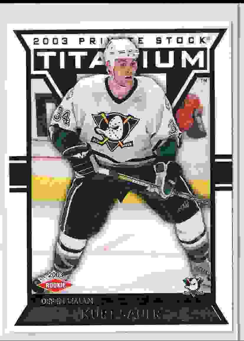 2002-03 Panini Titanium Private Stock Kurt Sauer #103 card front image