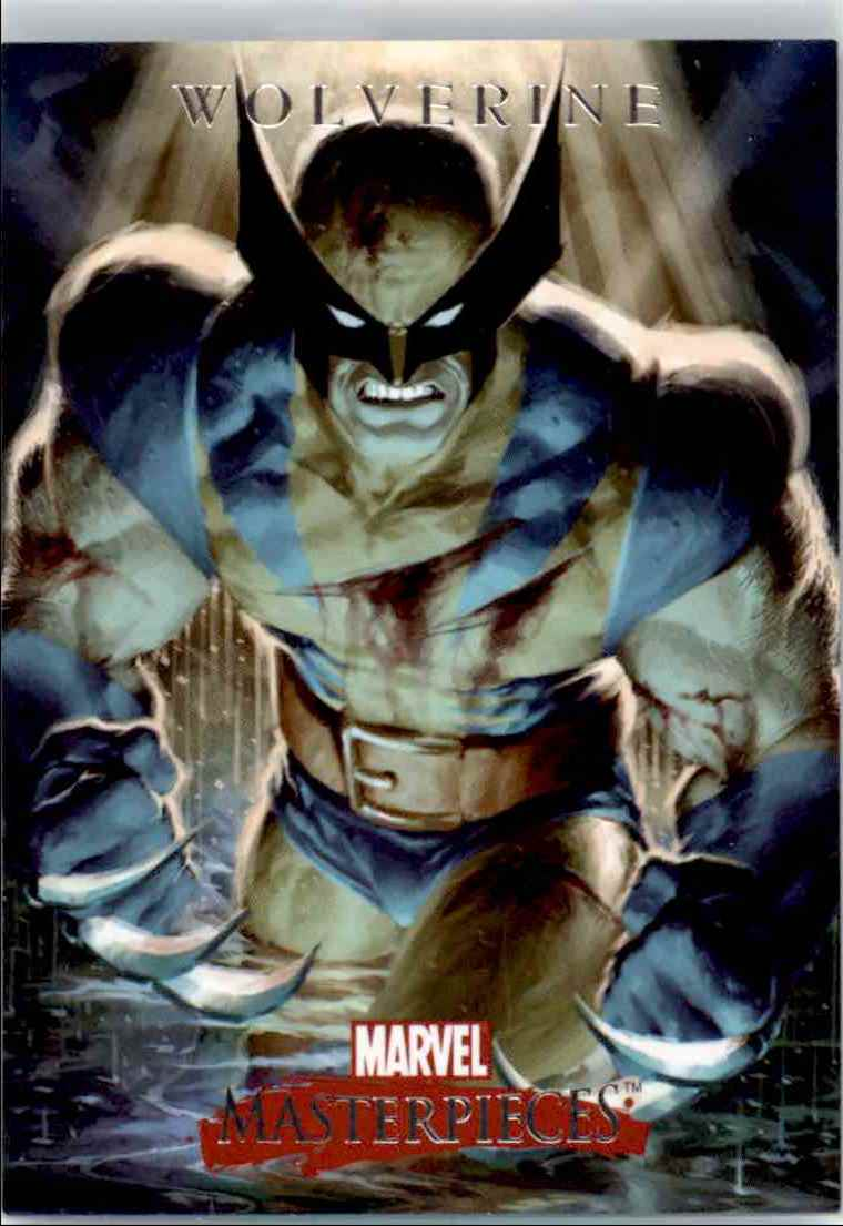 2007 Upper Deck Marvel Masterpieces Promo Card Wolverine (San Diego Comic Con) #P4 card front image