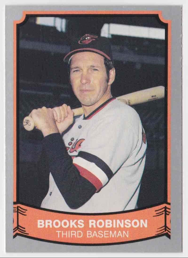 1989 Pacific Baseball Legends Brooks Robinson #129 card front image