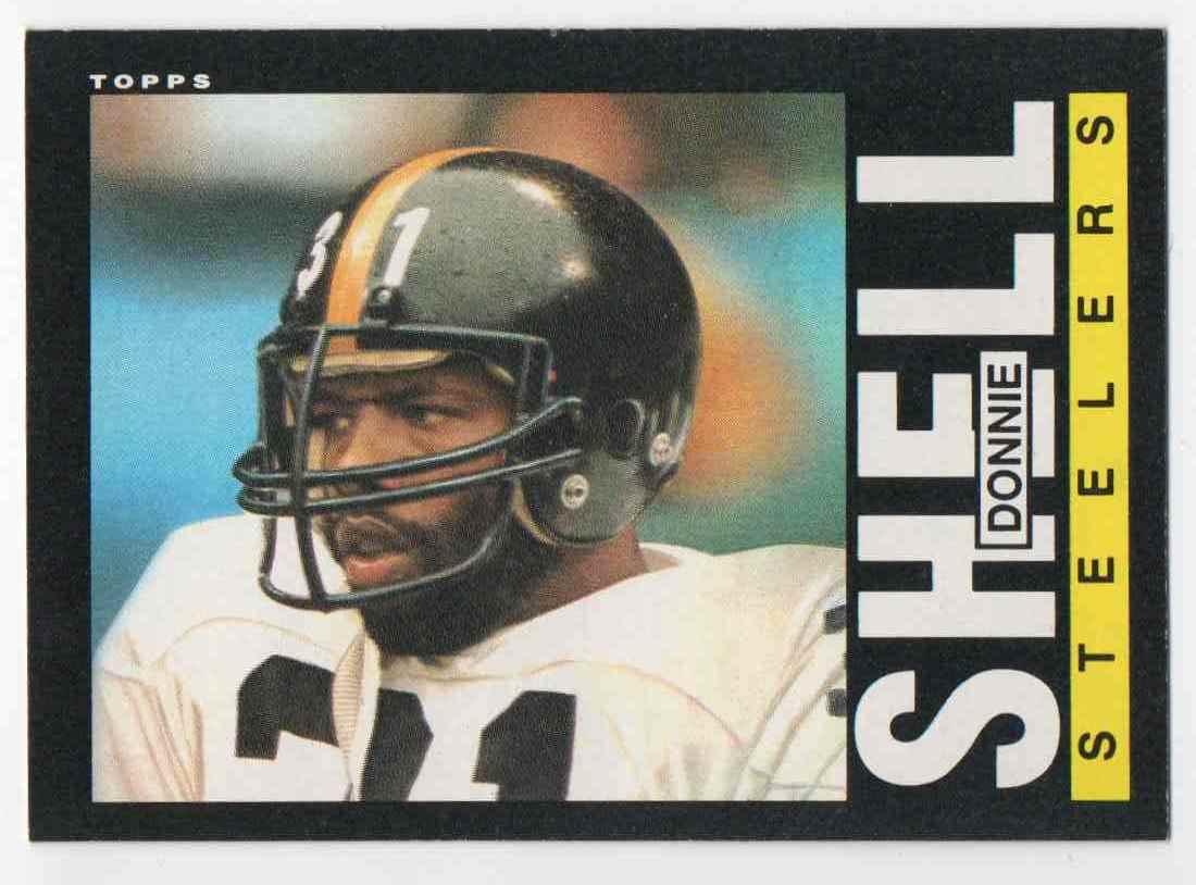1985 Topps Donnie Shell #362 card front image