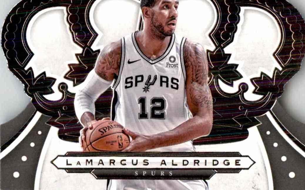 2019-20 Crown Royale Lamarcus Aldridge #64 card front image