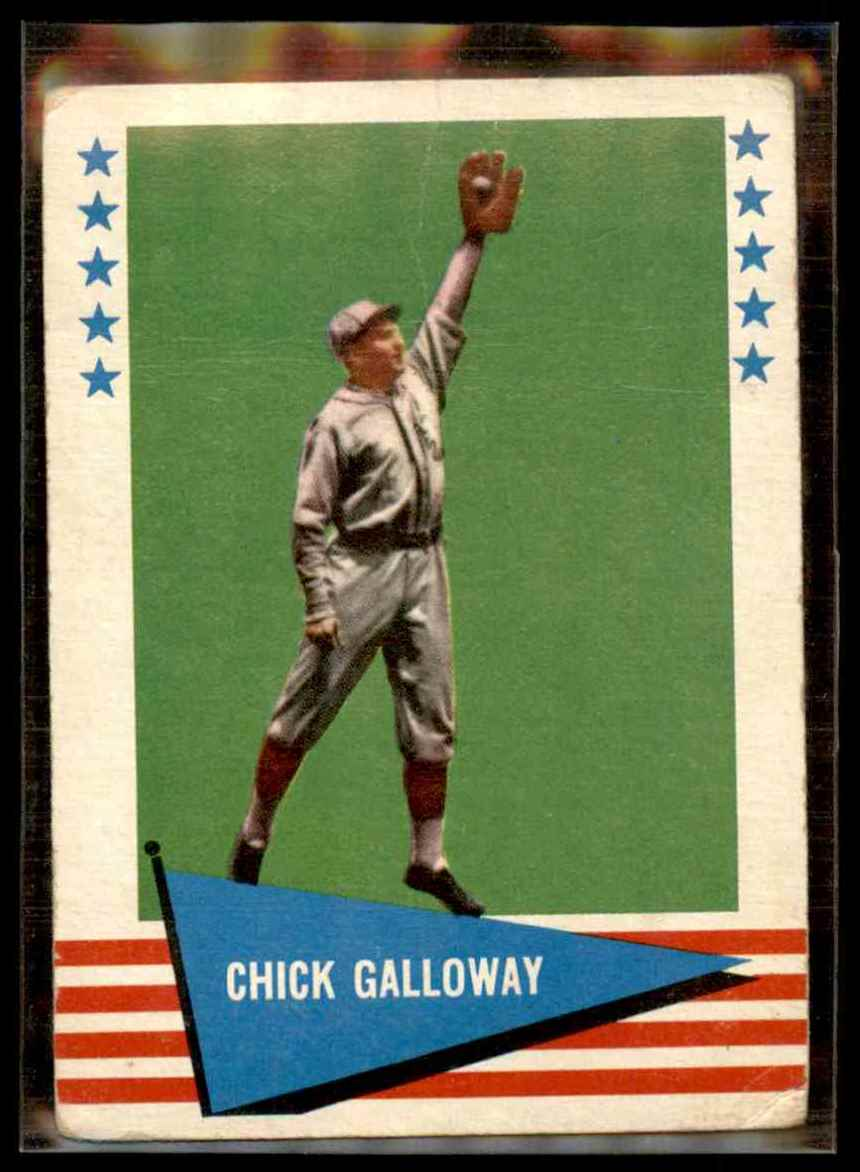 1961 Fleer Chick Galloway #108 card front image
