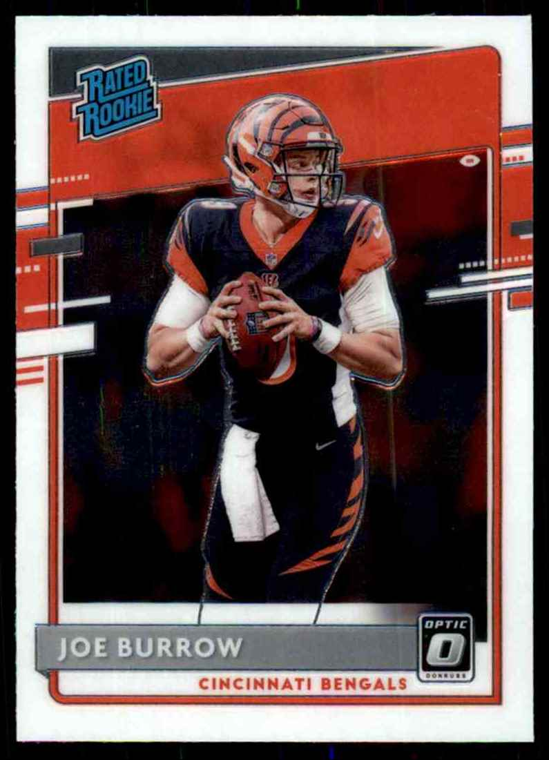 2020 Donruss Optic Joe Burrow Rr RC #151 card front image
