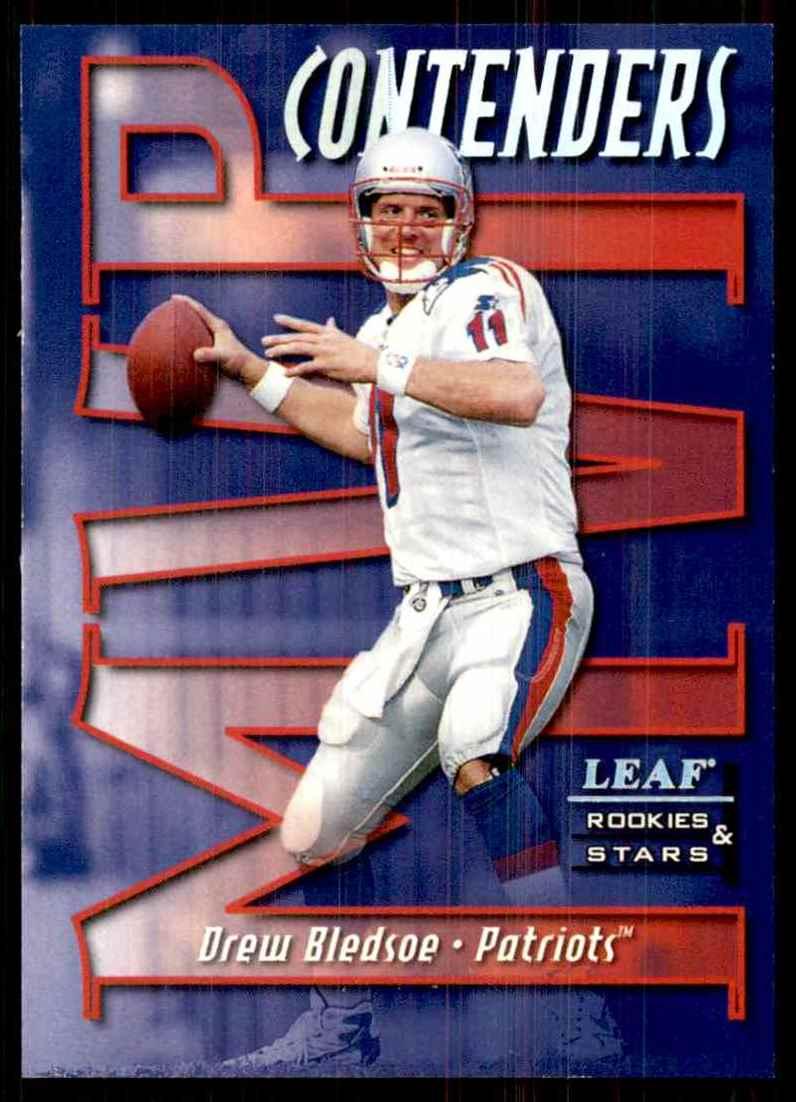 1998 Leaf Rookies & Stars MVP Contender Drew Bledsoe #15 card front image