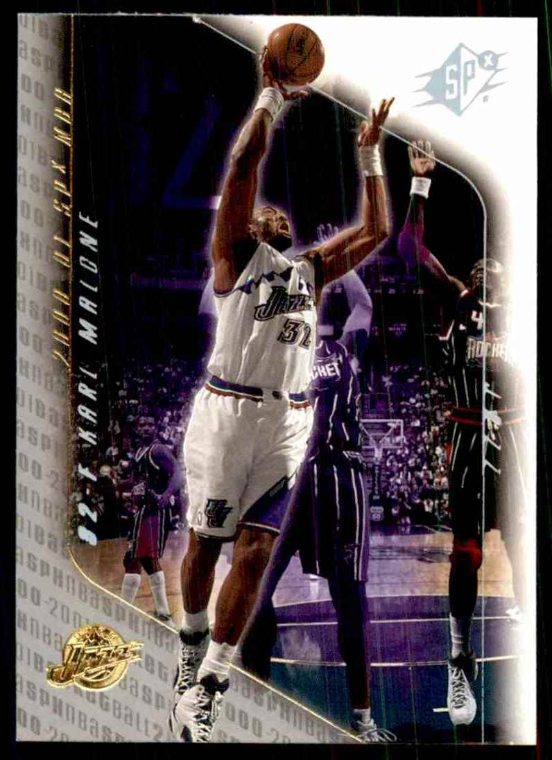 2000-01 SPx Karl Malone #82 card front image