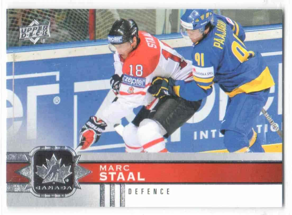 2017-18 Upper Deck Team Canada Canadian Tire Marc Staal #49 card front image