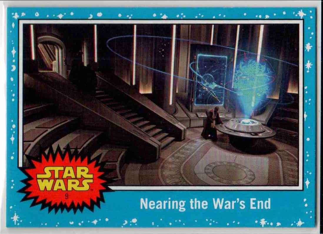 2019 Topps Star Wars Journey To Rise Of Skywalker Nearing The War's End #9 card front image