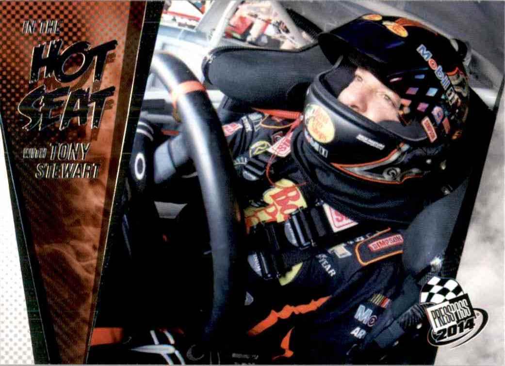 2014 Press Pass Tony Stewart #87 card front image