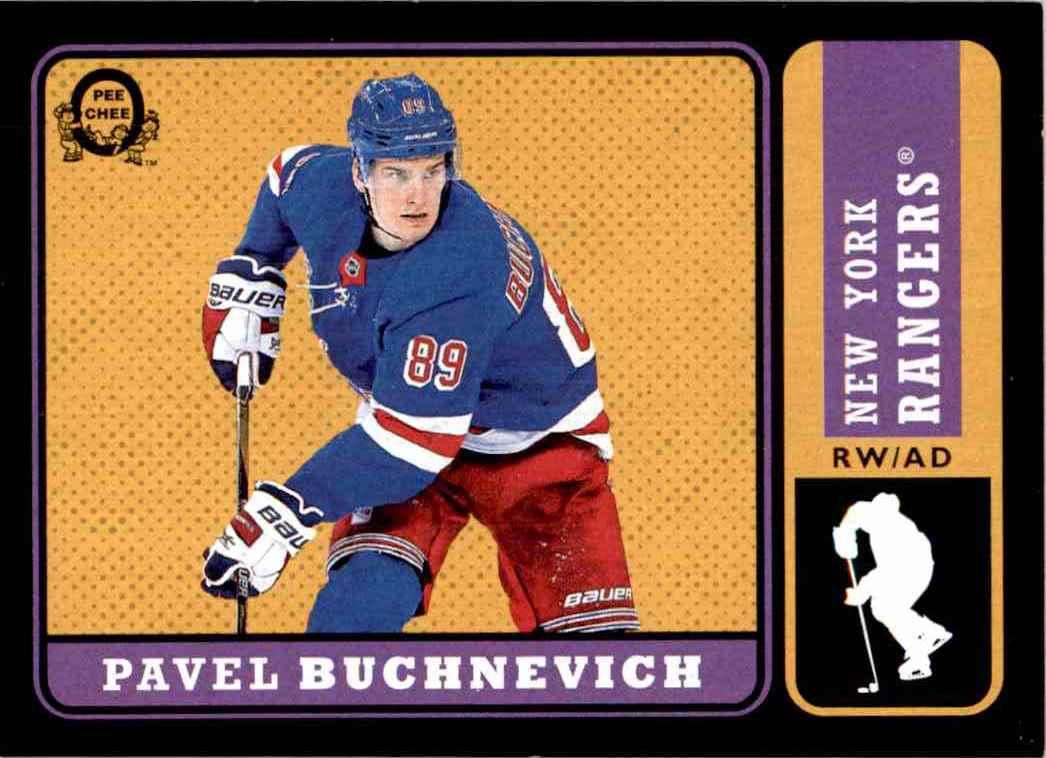 2018-19 O-Pee-Chee retro Black Pavel Buchnevich #62 card front image