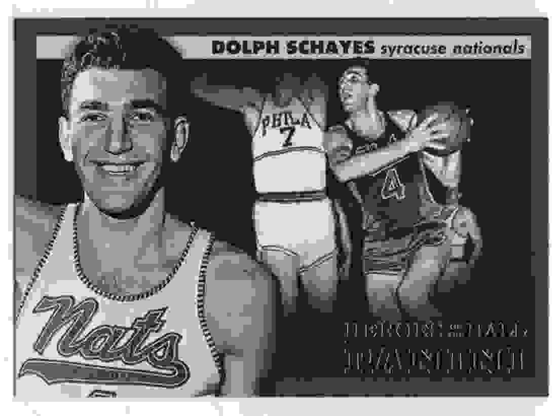 4 Dolph Schayes trading cards for sale