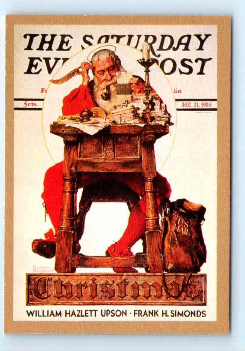 1993 Comic Images Norman Rockwell Christmas 1935 #74 on Kronozio