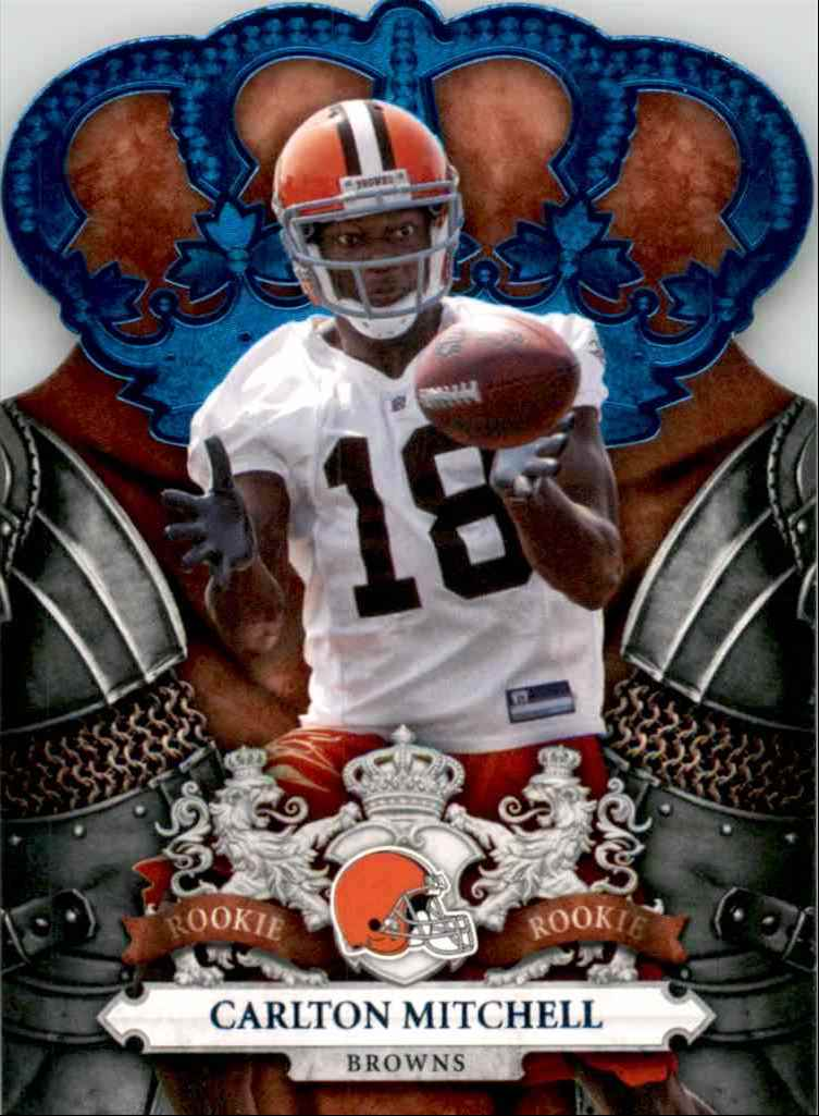 2010 Crown Royale Blue Carlton Mitchell #115 card front image