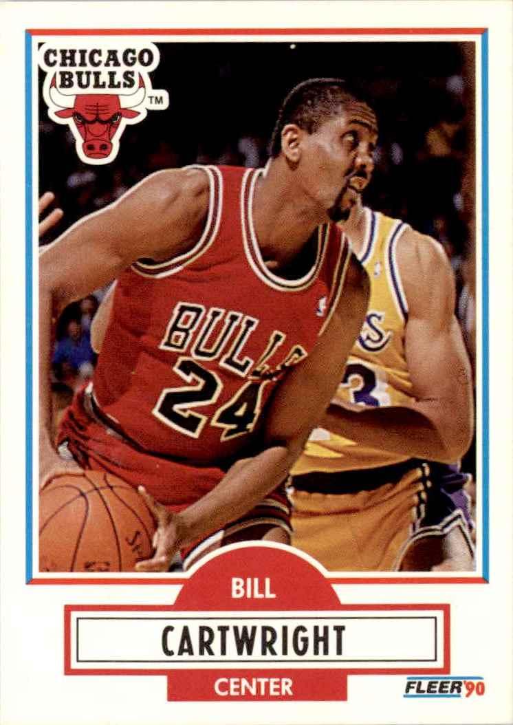 1990-91 Fleer Bill Cartwright #23 card front image