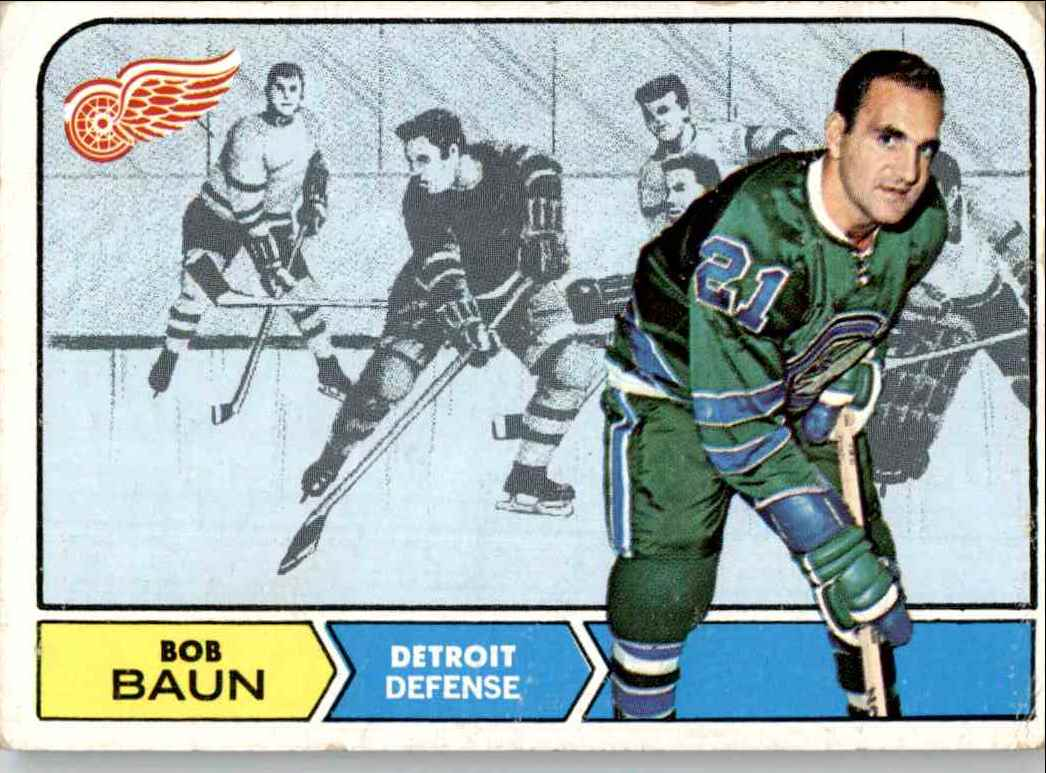 1968-69 Topps Bob Baun #24 card front image