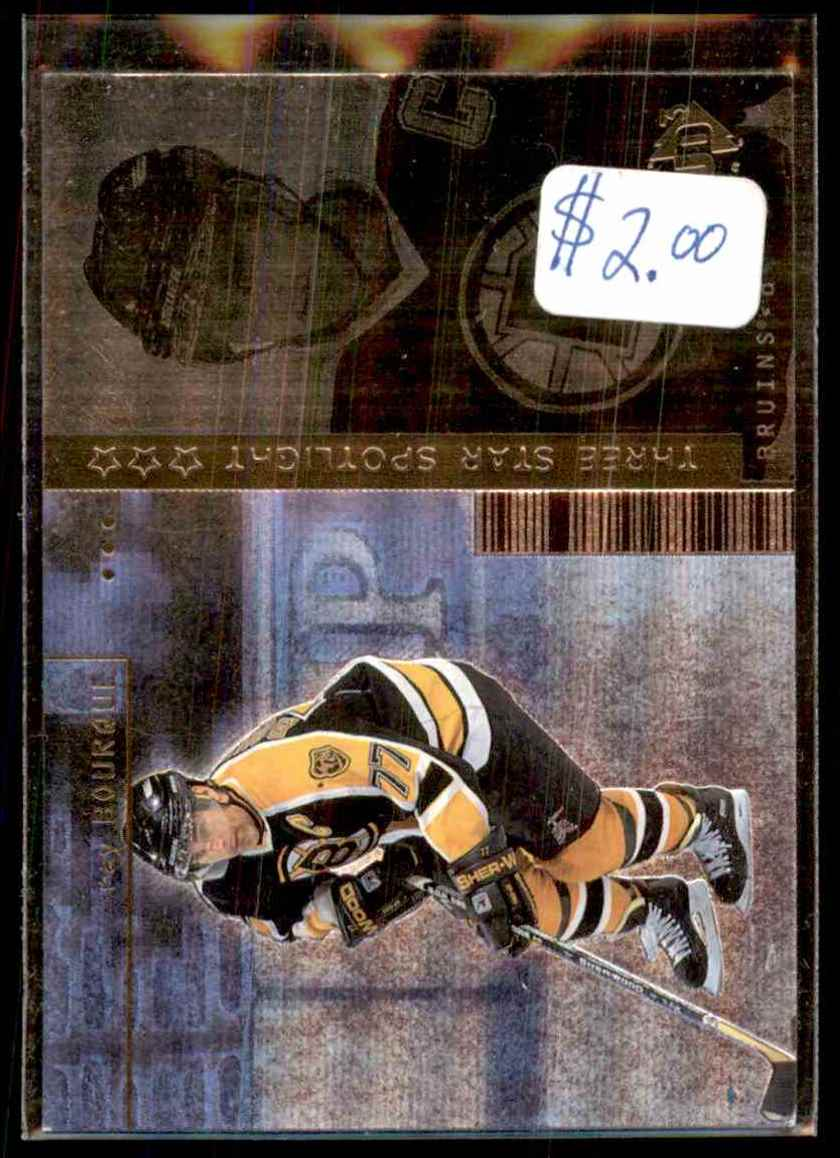 1998-99 Ud3 Ray Bourque #115 card front image