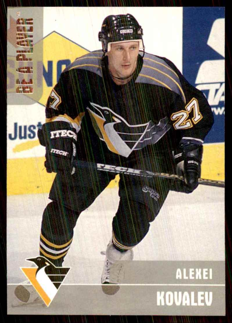 1999-00 Bap Memorabilia Silver Alexei Kovalev #71 card front image