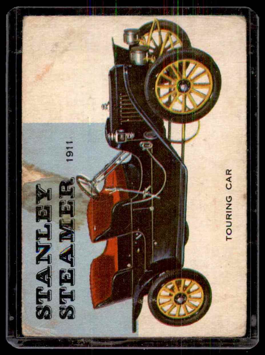 1954 World On Wheels Stanley Steamer #41 card front image