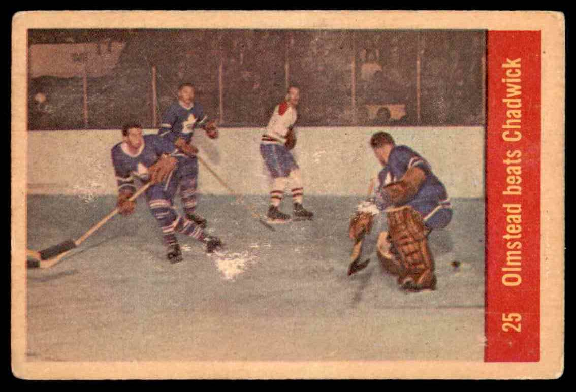 1957-58 Parkhurst Olmsteadbeats Chadwick #25 (03) card front image